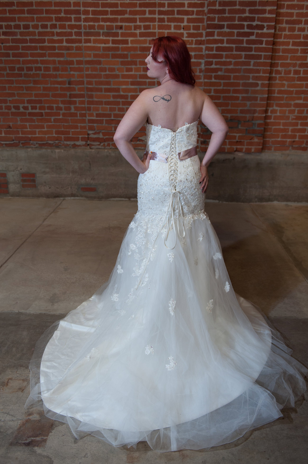 Buyer beware knock off wedding gowns for Knock off wedding dresses