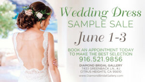 QWedding Dress Sample Sale at Diamond Bridal