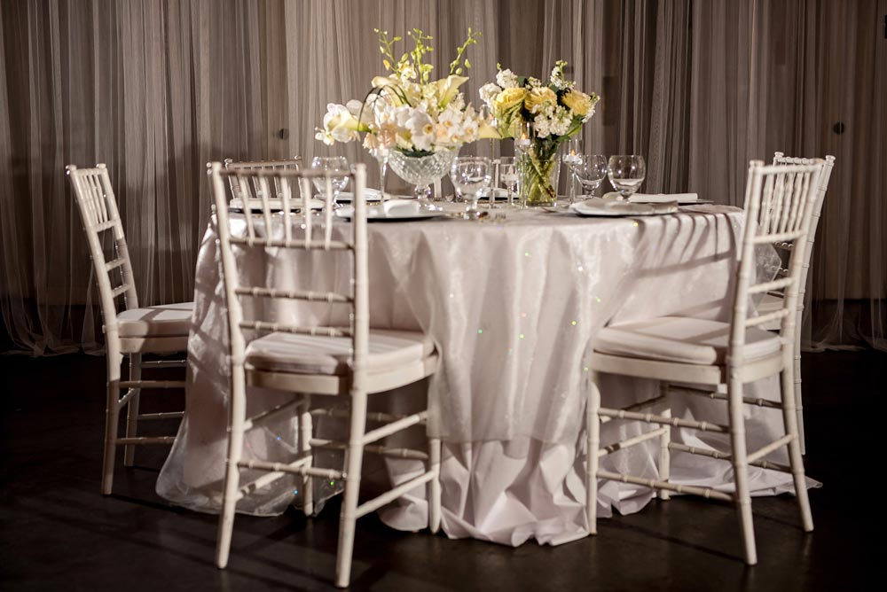 sacramento wedding table